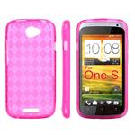 Sili-Cover til One S - Quadro (Pink)