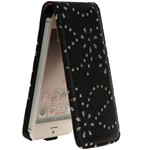 Diamond Bling Etui til iPhone 5 (Sort)