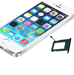 iPhone 5/5S nano sim holder (sort)