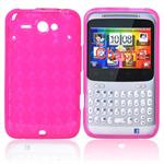 Sili-Cover til ChaCha - Diamond (Pink)