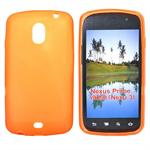 Sili-Cover til Nexus - Simplicity (Orange)