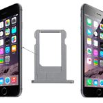 iPhone 6/6S nano sim holder (Space grey)