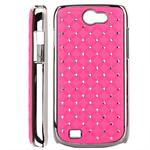 Bling Cover til Galaxy W (Pink)
