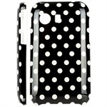 Design Cover til Galaxy Y - Mini Dots (Sort)