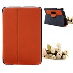 Folde mappe etui til iPad mini (Orange)