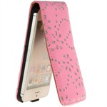 Diamond Bling Etui til iPhone 5 (Pink)