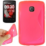 Cover fra S-Line til Optimus L1 2 (Pink)