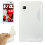 Sili-Cover til Optimus L4 2 - X-splat (Transparent)