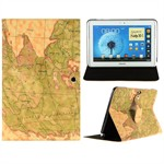 Design Case til Note 10.1 - World Map (Simpel)