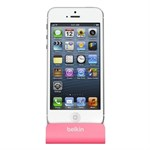 Belkin Charge+Sync Dock Station iPhone 5/5S/5C/6/6 Plus (Pink)