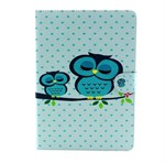ipad-air1/2-model5-Cute Closed Eyes Owl