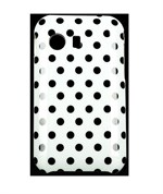 Design Cover til Galaxy Y - Mini Dots (Hvid)