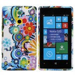 Design Sili-Cover til Lumia 520 - Hippie Summer