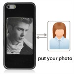 Foto Cover til iPhone 5 (sort)