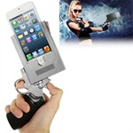 iPhone 5 Gun Holder - Silver