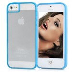 Farve Kant iPhone 5 Cover (blue)