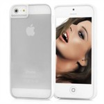 Farve Kant iPhone 5 Cover (White)