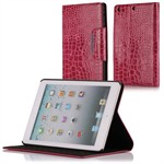 Fancy iPad Mini Krokodille Etui (Magenta)