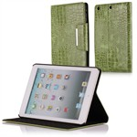 Fancy iPad Mini Krokodille Etui (Grøn)