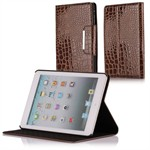 Fancy iPad Mini Krokodille Etui (Brun)