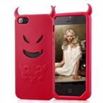 Evil iPhone 5 Cover (red)