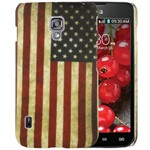 Design Cover til LG Optimus L7 2 Dual - Retro USA