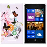 Design Cover til Lumia 925 - Summer Butterflies