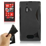Cover fra S-Line til Lumia 928 (Sort)
