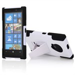 Defender Case til Lumia 920 (Hvid/Sort)