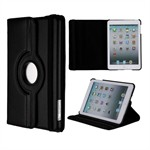 Super billigt iPad Mini 1 / iPad Mini 2 / iPad Mini 3 Roterende Etui - Sort