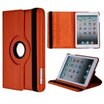 Super billigt iPad Mini 1 / iPad Mini 2 / iPad Mini 3 Roterende Etui - Orange