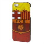 iPhone 5/5S fodbold cover (Barcelona-3)