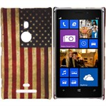 Design Cover til Lumia 925 - Retro USA