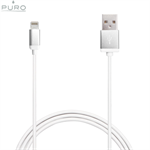 Puro iPhone/iPad Lightning Kabel (sølv)