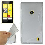 Cover fra S-Line til Lumia 520 (Transparent)