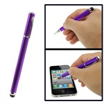 Smart 2 in 1 Kugle- og Touchpen (lilla)