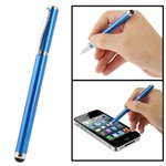 Smart 2 in 1 Kugle- og Touchpen (blå)