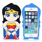 Silikone Superwoman Cover - 5/5S