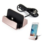 Docking station til iPhone 5/6 - Rose guld