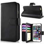 Exclusive Wallet Case 2.0 - iPhone 6G (Black)