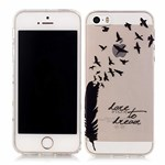 Iphone5-5s-se-model4-black feather