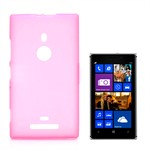 Sili-Cover til Lumia 925 - Simplicity (Pink)