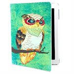 Fan etui iPad (Owl grøn)