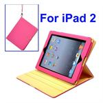 iPad 2/3 L�der Case (Pink)