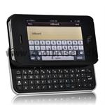 Case M. Slide Qwerty-Tastatur (Eng) til iPhone 4/4S