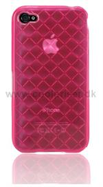 Flettet Silicone M�nster p� Cover (Pink)