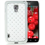 Bling Cover til Optimus L7 2 Dual (Hvid)