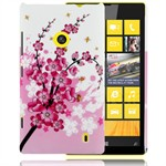 Design Cover til Lumia 520 - Pink Flowers
