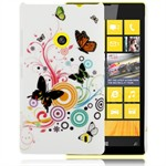 Design Cover til Lumia 520 - Summer Butterflies