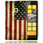 Design Cover til Lumia 520 - Retro USA